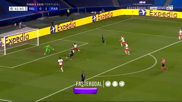 El segundo gol fue de Ángel Di María