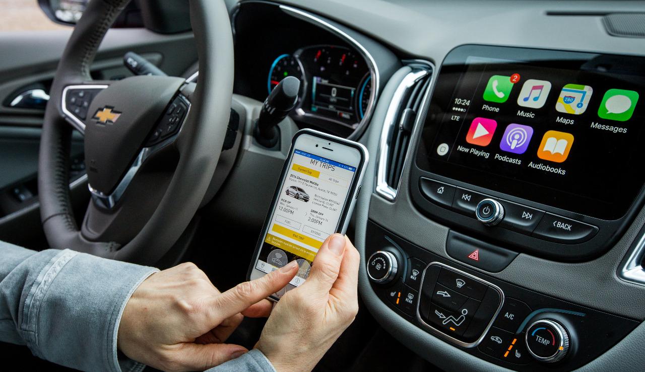 El sistema OnStar permite notificar a una central cualquier inconveniente con el vehículo