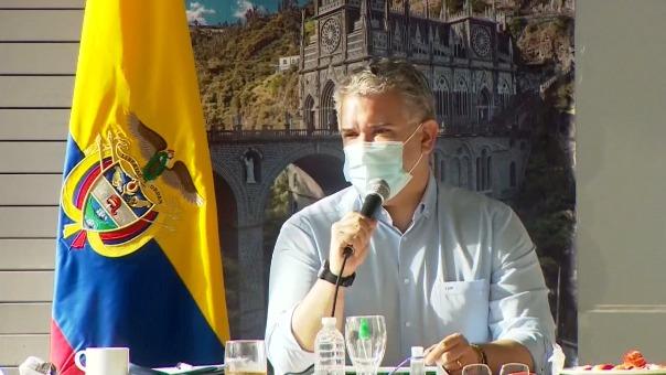Iván Duque dice que en Colombia no hay