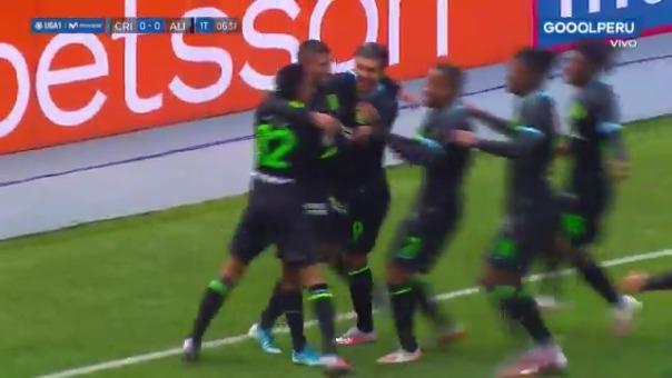 Alianza Lima se puso arriba del marcador gracias a Josepmir Ballón