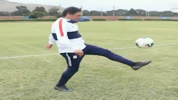 Mario Salas cumplió challenge de Alianza Lima y retó a Ricardo Gareca.