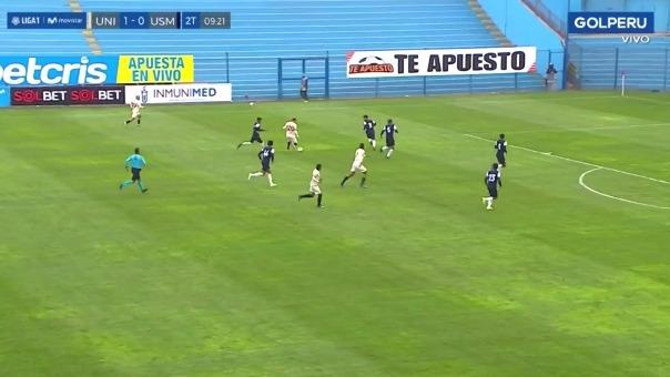 Gol de Iván Santillán.