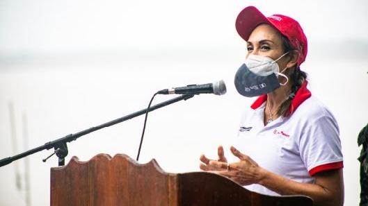 Patricia Donayre, titular del Ministerio de Desarrollo e Inclusión Social (Midis).