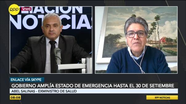Abel Salinas, exministro de Salud.