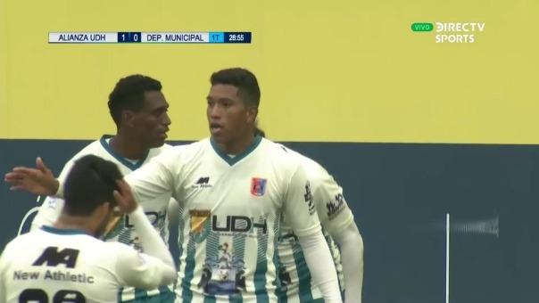 Enzo Maidana, así fue el gol de Alianza Universidad ante Municipal