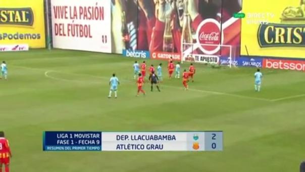 Deportivo Llacuabamba 2-0 Atlético Grau: resultado, resumen y goles del partido por la fecha 9 del Apertura | RPP Noticias