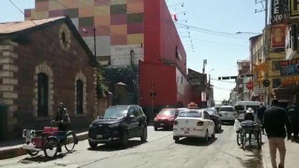 El transporte público en Puno se reactiva de manera gradual en plena cuarentena focalizada.