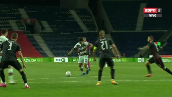 Portugal 3-0 Croacia: Joao Felix marcó el tercer gol de Portugal