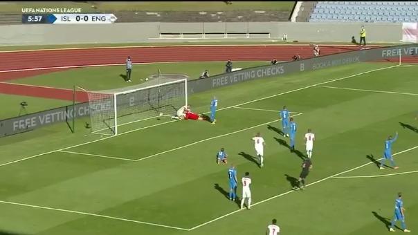 Inglaterra enfrenta a Islandia por la Liga de Naciones