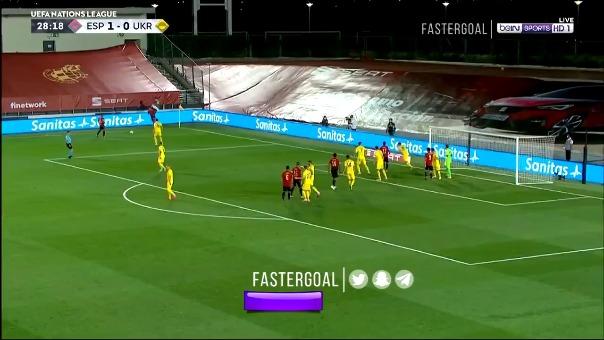 El gol de cabeza de Sergio Ramos.