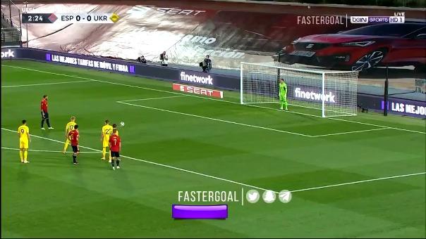 Sergio Ramos anotó de penal.