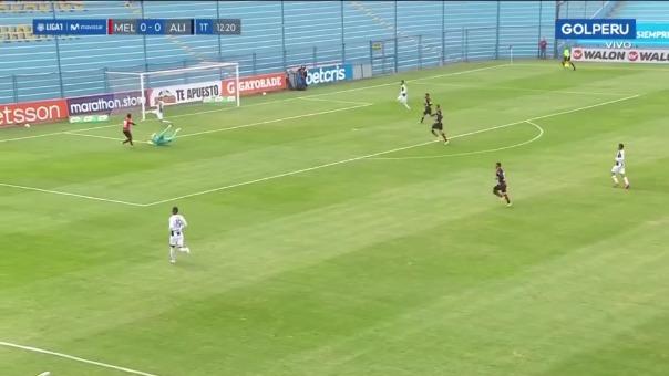 Alberto Rodríguez evitó gol de Melgar ante Alianza Lima.