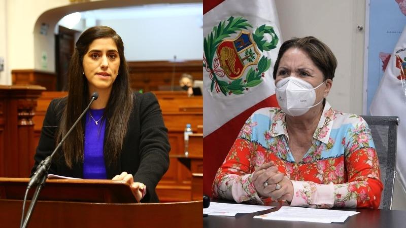 Rosario Sasieta se mostró en contra de la moción de censura impulsada por cuatro bancadas del Congreso.