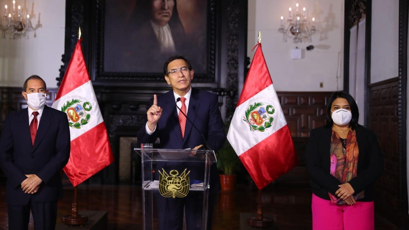Martín Vizcarra ofreció un Mensaje a la Nación.