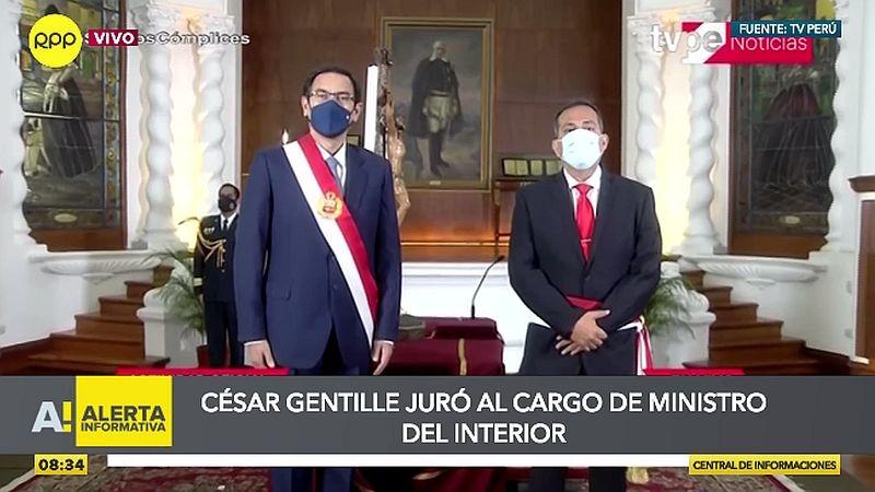 La ceremonia de juramentación se realizó esta mañana en Palacio de Gobierno.