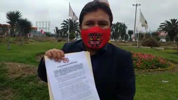 Arturo Fernández invocó a la ciudadanía a presentarle pruebas de la intervención de las fuerzas del orden en sus viviendas producto de la cuarentena focalizada.
