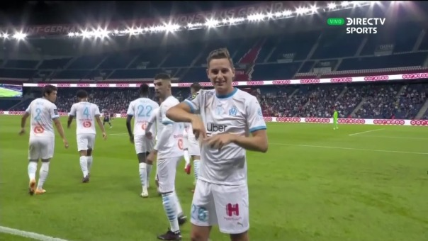 PSG 0-1 Marsella: así fue el gol del Marsella
