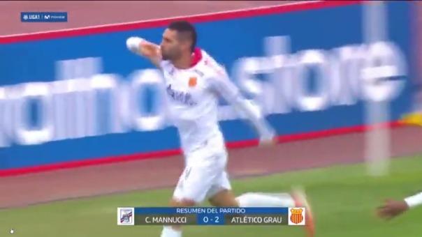 Atlético Grau venció 2-0 a Mannucci