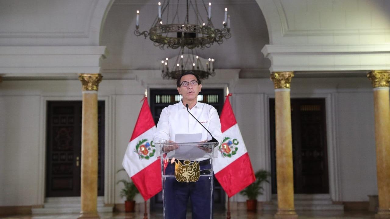Presidente Vizcarra ofrece un nuevo pronunciamiento.