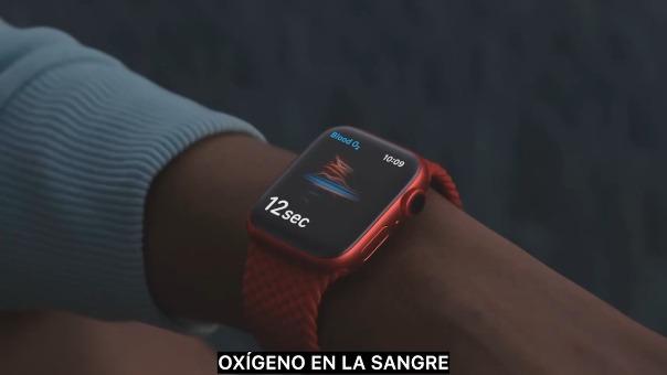 La presentación del Apple Watch Series 6.