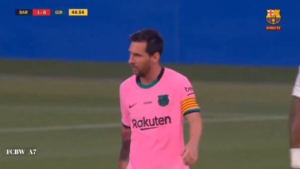 Primer gol de Lionel Messi en el Barcelona vs. Girona