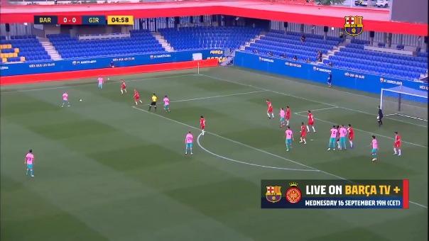 Barcelona vs. Girona.