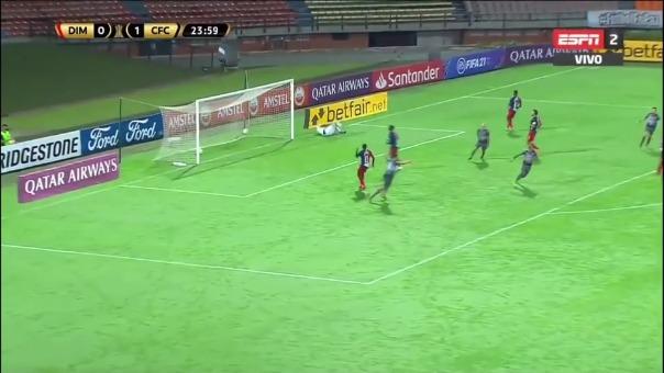 Tremenda victoria de Caracas FC en Medellín