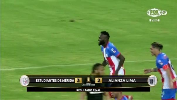 Alianza Lima sigue sin puntos en la tabla de posiciones en la Copa Libertadores