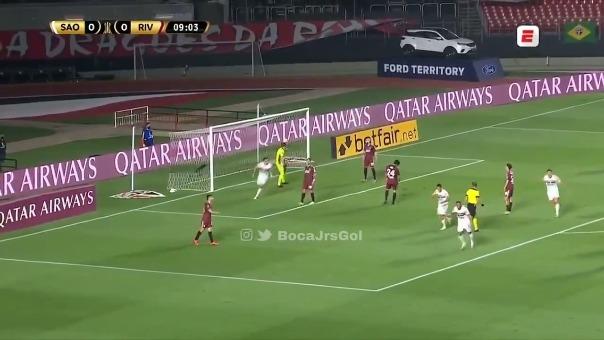 Autogol de Enzo Pérez