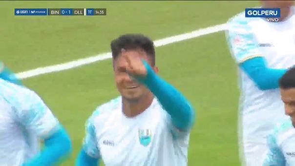 Gol de Humberto Mendoza