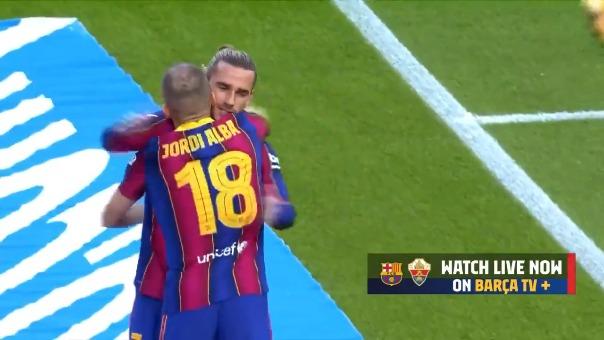 Gol de Antoine Griezmann