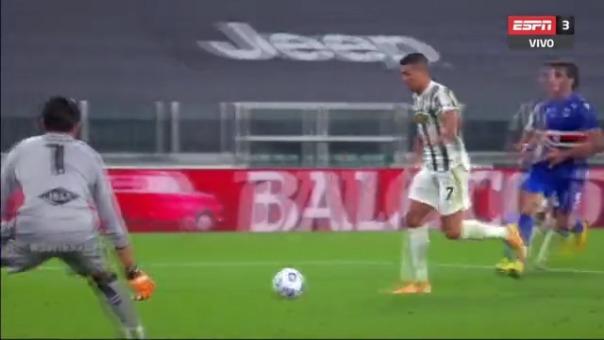 Cristiano Ronaldo selló la victoria de la Juventus