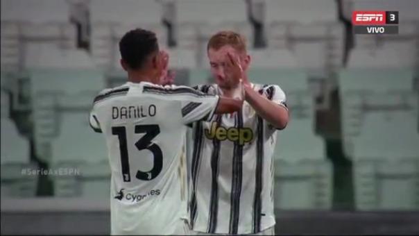Dejan Kulusevski abrió el marcador en el Juventus vs. Sampdoria