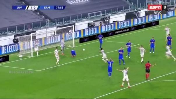 Bonucci marcó el segundo para Juventus