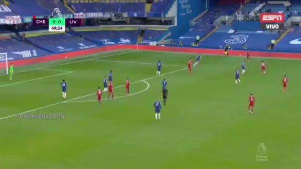 Gol de Liverpool.