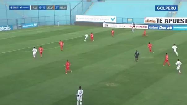 Así fue el gol que Yorley Mena le marcó a Alianza Lima.