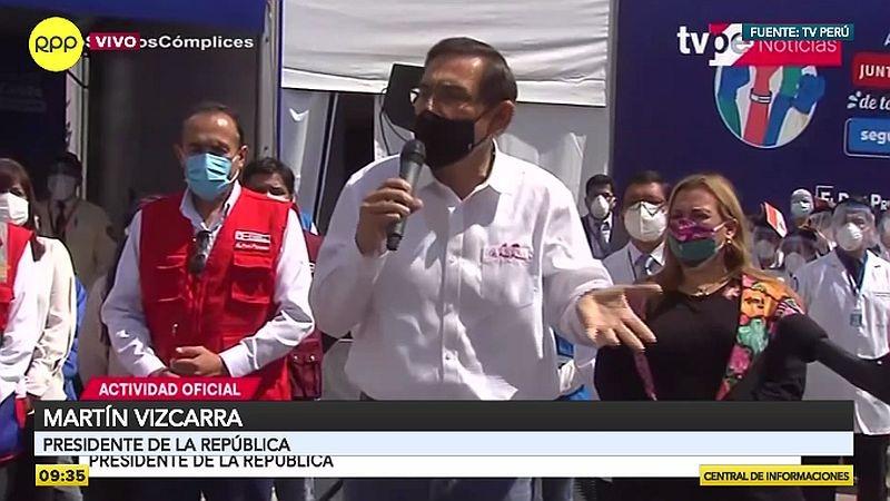 Martín Vizcarra se pronunció sobre el caso de las deudas tributarias durante su visita al Cusco.
