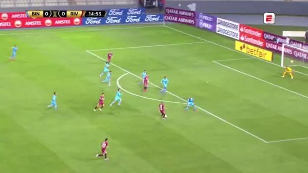 Así fue el gol de Nicolás de la Cruz a Binacional.