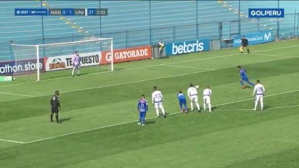 Gol de Ricardo Lagos ante Universitario