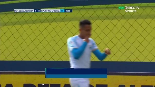Llacuabamba 1-0 Cristal: así fue el gol de Alex Valera