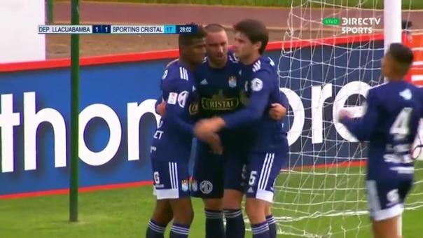 Llacuabamna 1-1 Cristal: así fue el gol de Emanuel Herrera