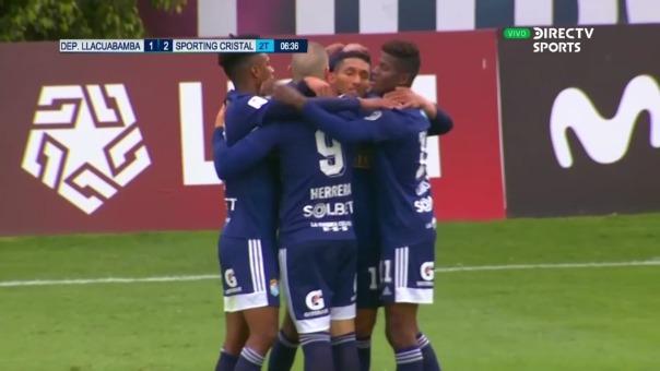 Llacuabamba 1-2 Cristal: así fue el gol de Christofer Gonzales