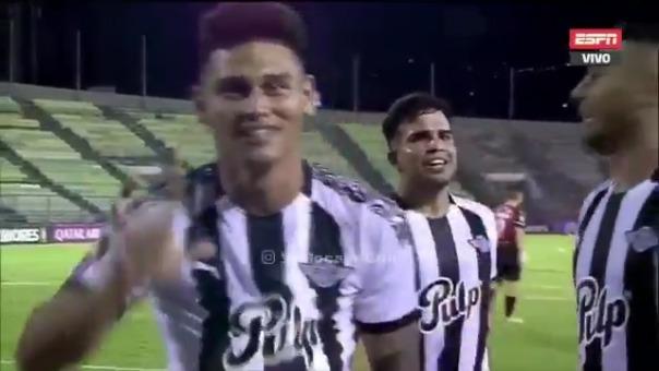 Gol de Matías Espinoza de Libertad