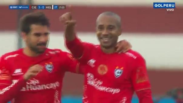 Gol de Damián Ismodes