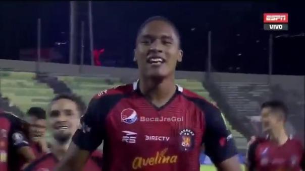 Gol de Saúl Guarirapa de Caracas