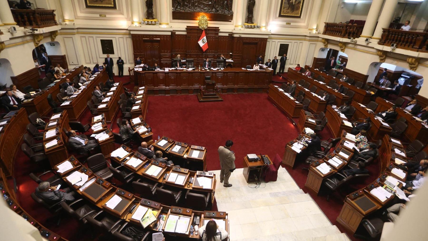La propuesta fue sustentada por el legislador Rubén Ramos Zapana.