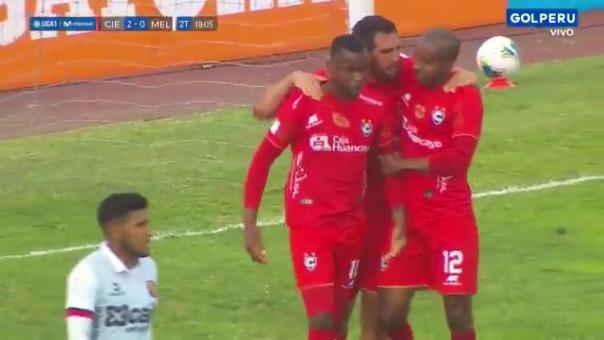 Gol de José Cuero