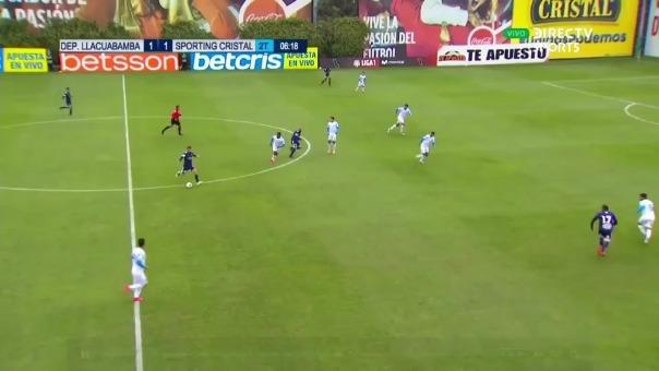 Sporting Cristal anotó el 2-1.