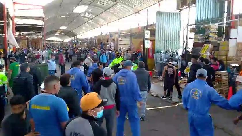 Enfrentamiento en La Victoria