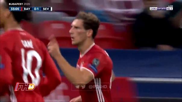 Gol de Leon Goretzka en la Supercopa de Europa